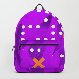 Purple Abstract Passion Backpack