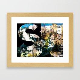 ESSE MAIUSCOLA Framed Art Print