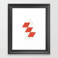 #540 Levels – Geometry Daily Framed Art Print