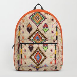 (N15) Oriental Traditional Bohemian Moroccan Artwork. Backpack