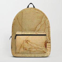 Vitruvian Man - Leonardo da Vinci Backpack