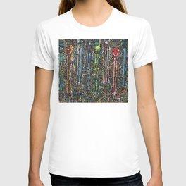 Awakening, people and words T-shirt