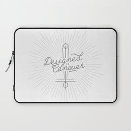 Designed to Conquer Laptop Sleeve