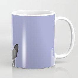 Boston Terrier Violet Coffee Mug