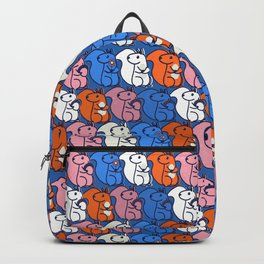 retro squirrels- pattern Backpack