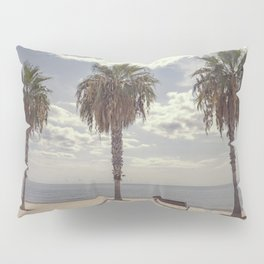 Palm trees in Palma de Mallorca Pillow Sham