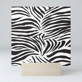 Zebra Pattern Mini Art Print