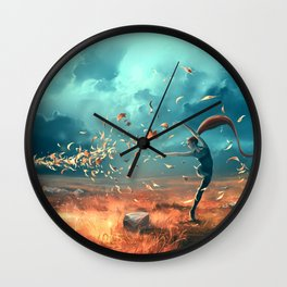 SAGITTARIUS form the Dancing Zodiac Wall Clock