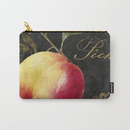 Melange Peach Carry-All Pouch