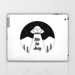 'Take Me Away' UFO Laptop & iPad Skin