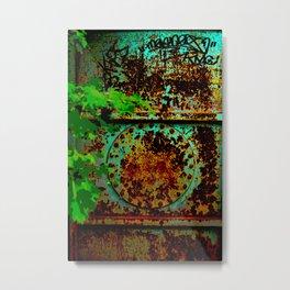 Secret Doorway Metal Print