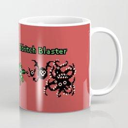 Cthulhu Man and Eldritch Mega Man - Pixel Art Coffee Mug