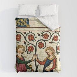 Codex Manesse: Bernger von Horheim Comforters
