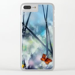 Westhay Butterfly 1 Clear iPhone Case