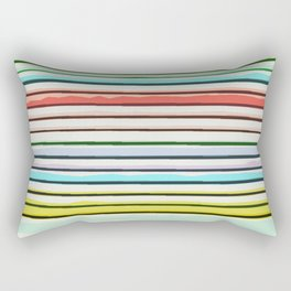 Abstract Stack Rectangular Pillow