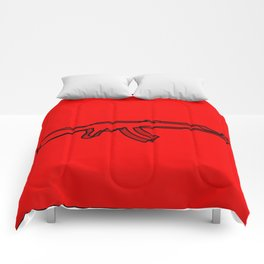 AK. OK. Comforters