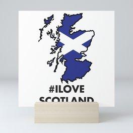 I love Scotland Mini Art Print