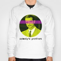 aviation Hoodies featuring Nobody's Perfect  |  Howard Hughes by Silvio Ledbetter
