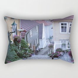 Bergen - Norway  Rectangular Pillow