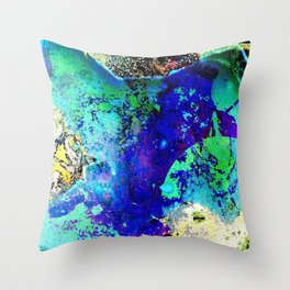 Waking Earth 2 Throw Pillow