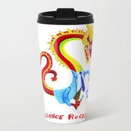 Science Dragon Metal Travel Mug