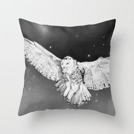 Harfang, snow owl Throw Pillow