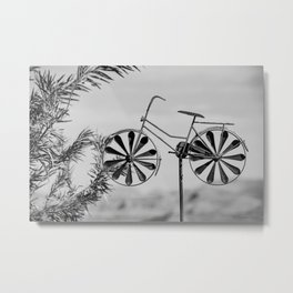 Day 1 of 7 Day B & W Challenge Metal Print