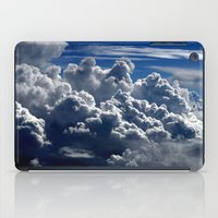 clouds iPad Cases featuring clouds by  Agostino Lo Coco