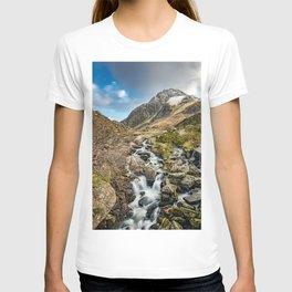 Tryfan and Ogwen Falls T-shirt