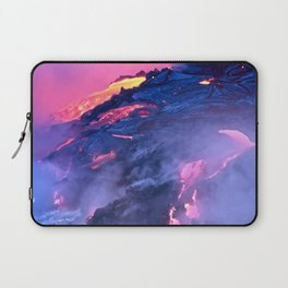 Kilauea Volcano Lava Flow. 4 Laptop Sleeve