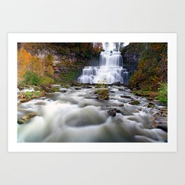 Flowing through you Art Print