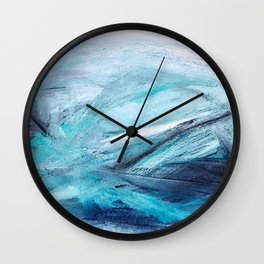 Iceland Blues Wall Clock