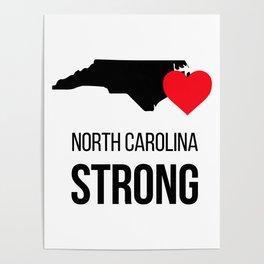 North Carolina strong / Hurricane season Poster
