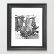 Home Sweet Framed Art Print