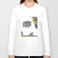 third eye Long Sleeve T-shirts featuring Third Eye  by CUTS