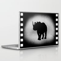rhino Laptop & iPad Skins featuring Rhino by LoRo  Art & Pictures