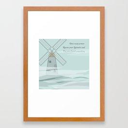 Quixotic Soul Framed Art Print
