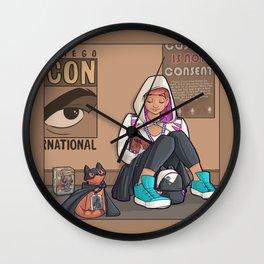 July Wall Clock