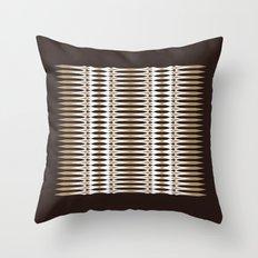 Atomic Spears Throw Pillow