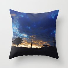 House on the cloud Throw Pillow