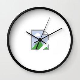 Google Chrome Broken Image Wall Clock
