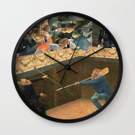 Fishmen in the Gods, Gods in the Fishmen Wall Clock