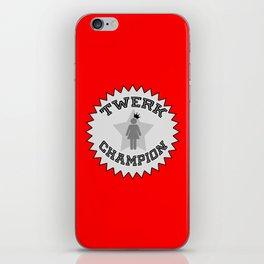 Twerk Champion iPhone Skin
