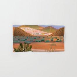 Copper Town (Square) Hand & Bath Towel