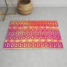 Inspired Aztec Pattern Rug