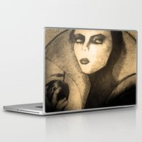 evil queen Laptop & iPad Skins featuring evil queen -snow white by Mathieu DeVille