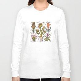 Carnivorous plants Long Sleeve T-shirt