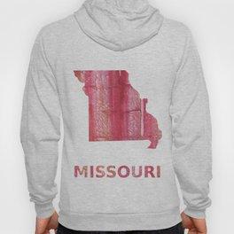 Missouri map Hoody
