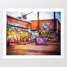 Graffiti Galore Art Print
