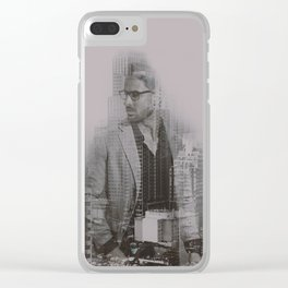 doble exposicion Clear iPhone Case